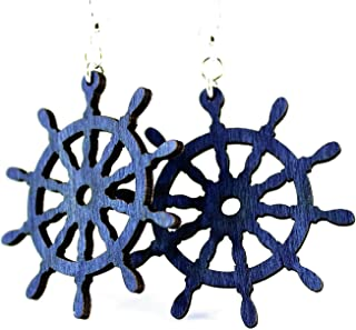 product image for Ship Wheel Earrings