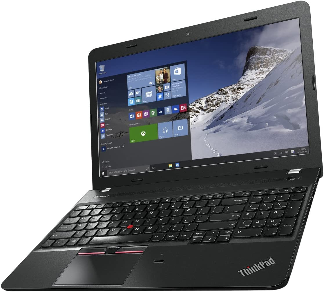 "Lenovo ThinkPad E565 20Ey 15.6"" Notebook - 4 GB RAM - 500 GB HDD - AMD Radeon R5 - Black 20EY000AUS"