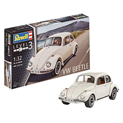 Revell Germany 07681 Vw Kafer 32 Car Model Kit: Toys & Games