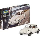 Revell Modellino Auto 1: 32–Volkswagen Maggiolino VW 1968(VW Beetle), Scala 1: 32, Level 3, Riproduzione fedele all' originale con molti dettagli, 07681