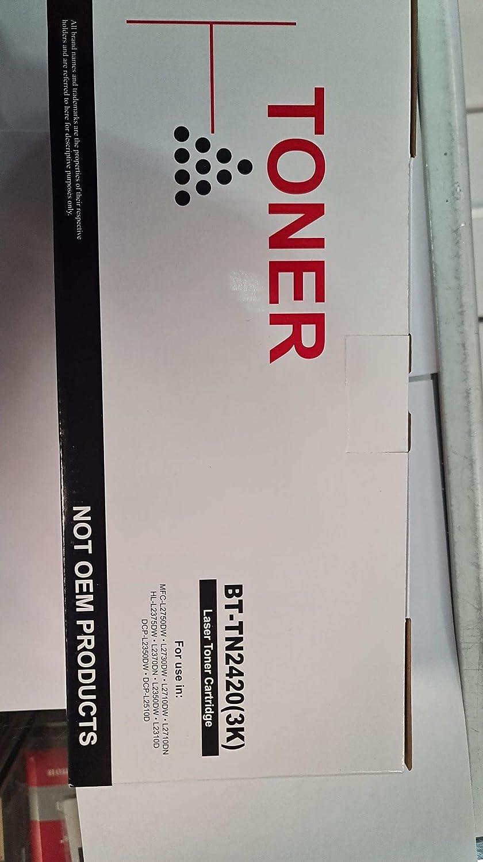 Comp Brother Toner Negro Tn2420 Tn2410 3 000 Paginas Elektronik