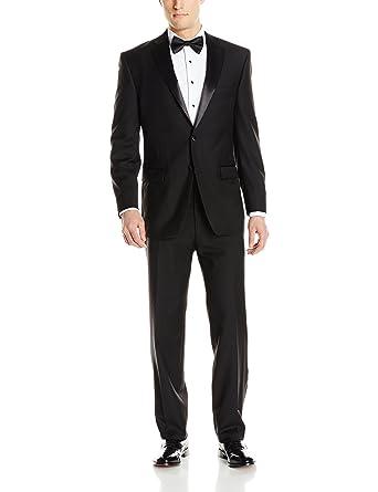 Calvin Klein Men\'s, Modern Fit 100% Wool Tuxedo at Amazon Men\'s ...
