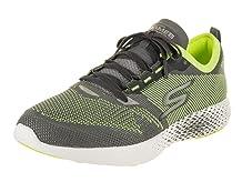 Skechers Mens Go MEB Razor 2 Charcoal/Lime 10.5 D - Medium
