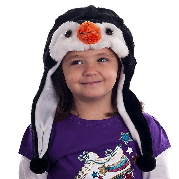 Critter Cap Niñas peluche lobo sombrero 721c4da71af