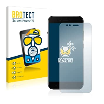 BROTECT Screen Protector Matte for Xiaomi Mi A1 [2 Pack] - Anti-Glare,  Anti-Fingerprint