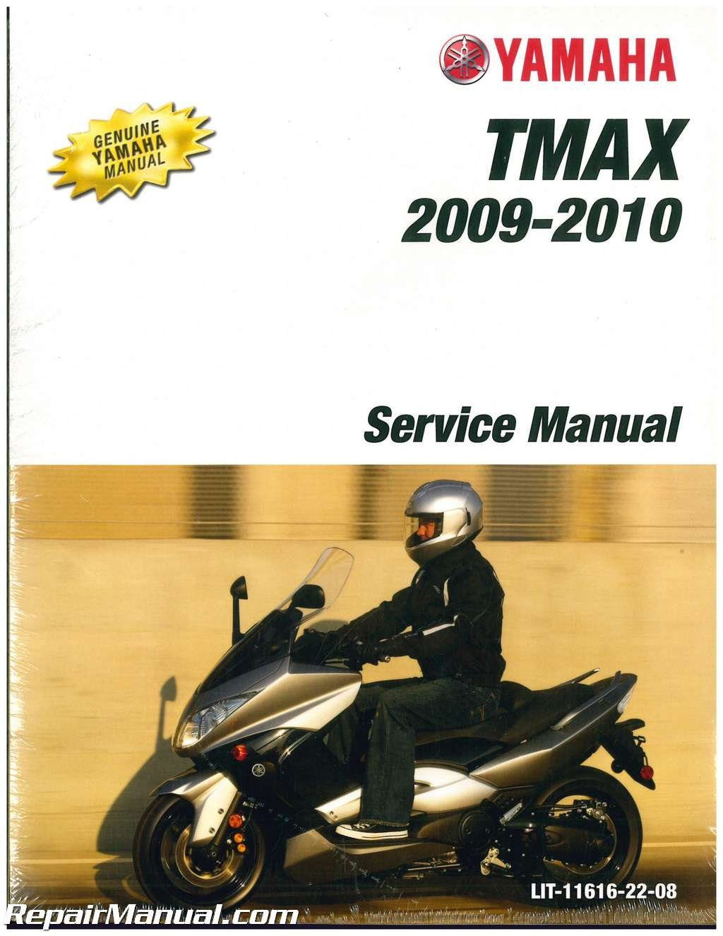 Lit 11616 22 08 2009 2011 Yamaha Xp500 Tmax Scooter Service Manual By Author Amazon Com Books