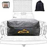 AUPERTO Weatherproof Truck Bed Cargo Bag - 26 Cubic Feet Heavy Duty Waterproof Luggage Bag for Truck Bed with Net and 4…