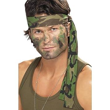 NET TOYS Tira para el Pelo de Camuflaje del ejército ...