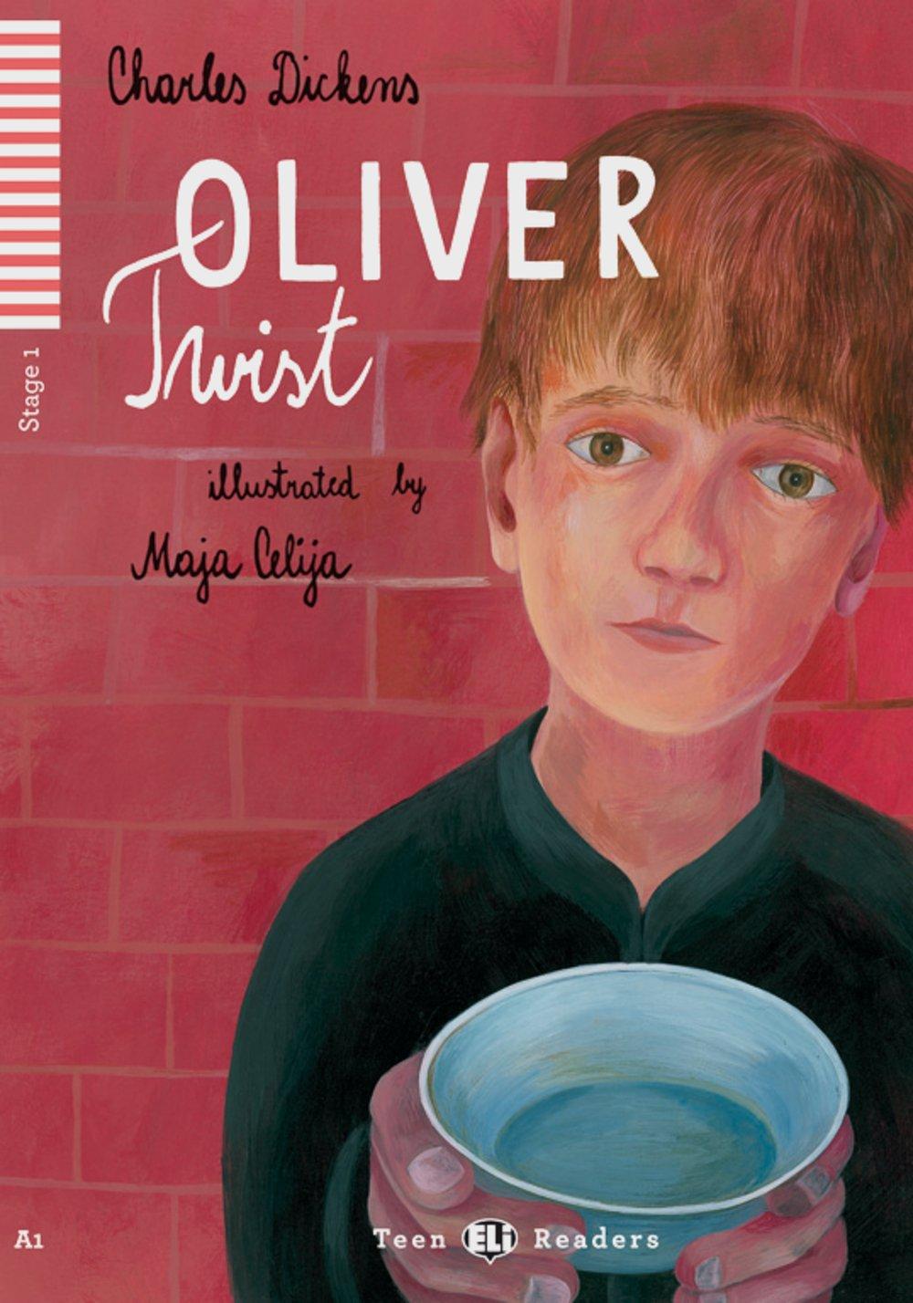 Oliver Twist: Englische Lektüre für das 1. Lernjahr. Buch + Audio-CD (Teen ELI Readers)