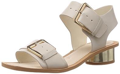 61fff61fb2d CLARKS womens SANDCASTLE ART Cotton Sandals