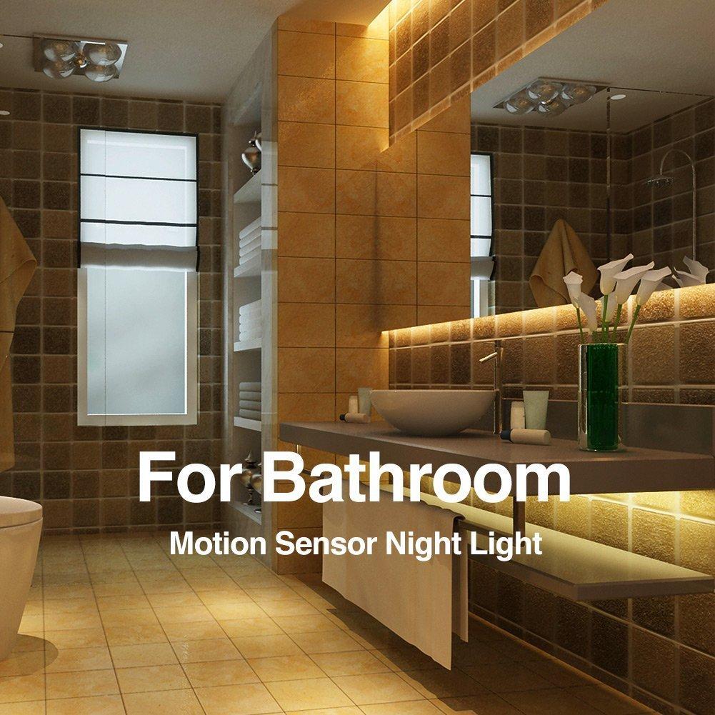 Amazon.com: Vansky Motion Activated Bed Light, Flexible LED Strip ...
