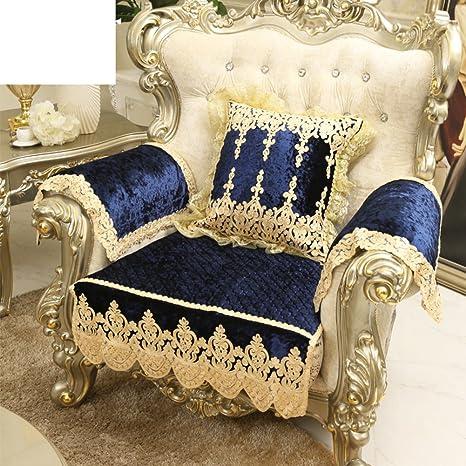 GJUGHFGDFGDFXC Toalla de sofá/Estilo Europeo,Cojines de sofá ...