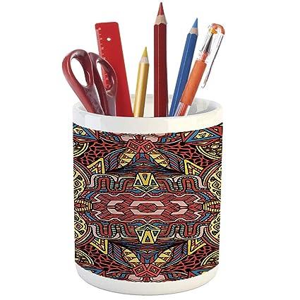 expédition de baisse coupe classique meilleur prix pour Crayon porte-stylo, Primitif Country Décor, imprimé en ...