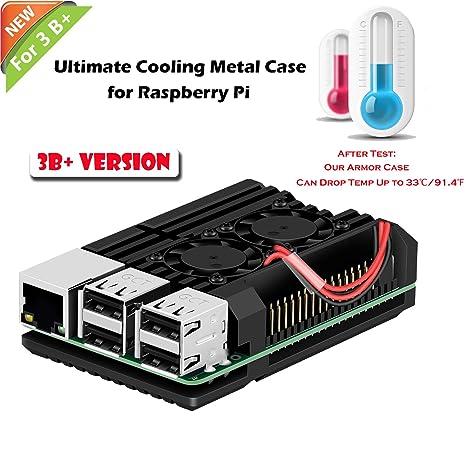 6924d55b1d8 Amazon.com  iUniker Raspberry Pi Armor Case