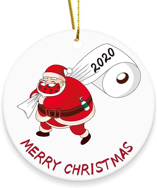 Merry Christmas Santa 2020 Amazon.com: 2020 Christmas Tree Ornament, Merry Christmas Santa