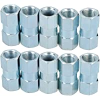 """AB Tools-Bond 3//8/"""" x 24 UNF Inline Male Brake Pipe Joiner Connector Fitting For 3//16/"""" Pipe 10pc"""