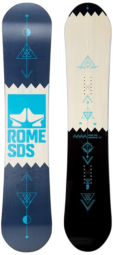 cb1525975 Amazon.com : Rome Mechanic 2019 Snowboard Men's : Sports & Outdoors