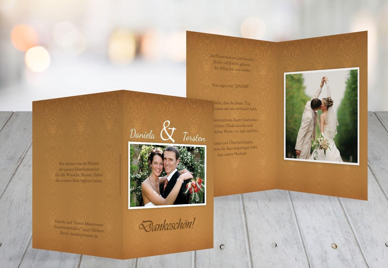 Kartenparadies Danksagung für Hochzeitsgeschenke Hochzeit Hochzeit Hochzeit Danke Eheversprechen, hochwertige Danksagungskarte Hochzeitsglückwünsche inklusive Umschläge   20 Karten - (Format  105x148 mm) Farbe  Orange B01MYARYYN | Der Schatz des Kindes, cea7c1