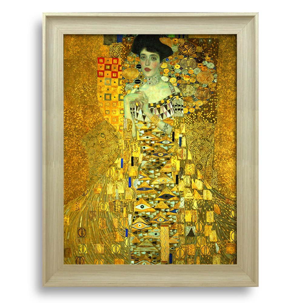 Framed Art Adele Bloch Bauer\'s Portrait by Gustav Klimt Famous ...