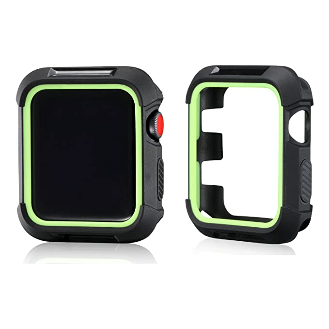 Apple Watch 3 carcasa, mairui iWatch 3 Protector de pantalla ...