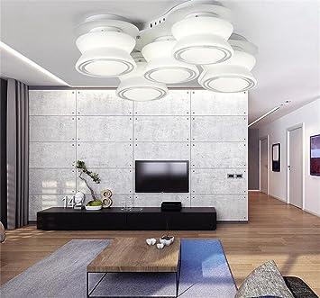Deko Deckenleuchten Im Europäischen Stil Wohnzimmer Modernen  Minimalistischen Runde Führte Schlafzimmer Glasdecken Stilvolle Einfachheit  (