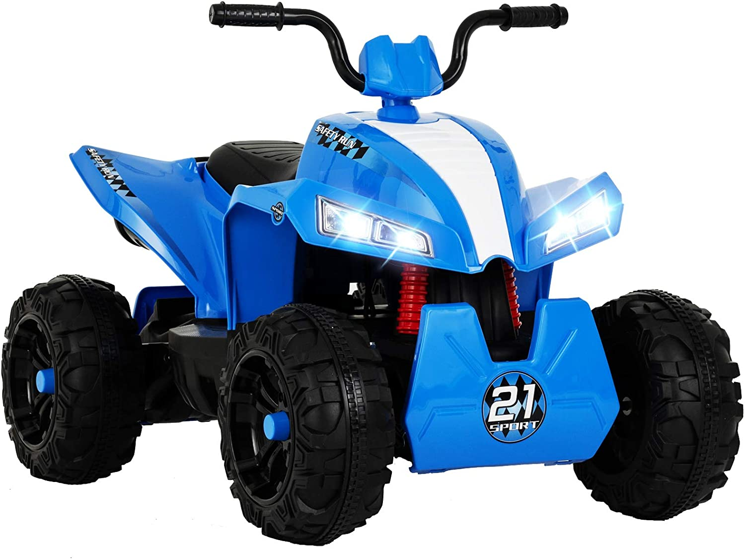 Uenjoy 12V Kids ATV 4 Wheeler Ride On Quad Battery Powered Electric ATV for Kids