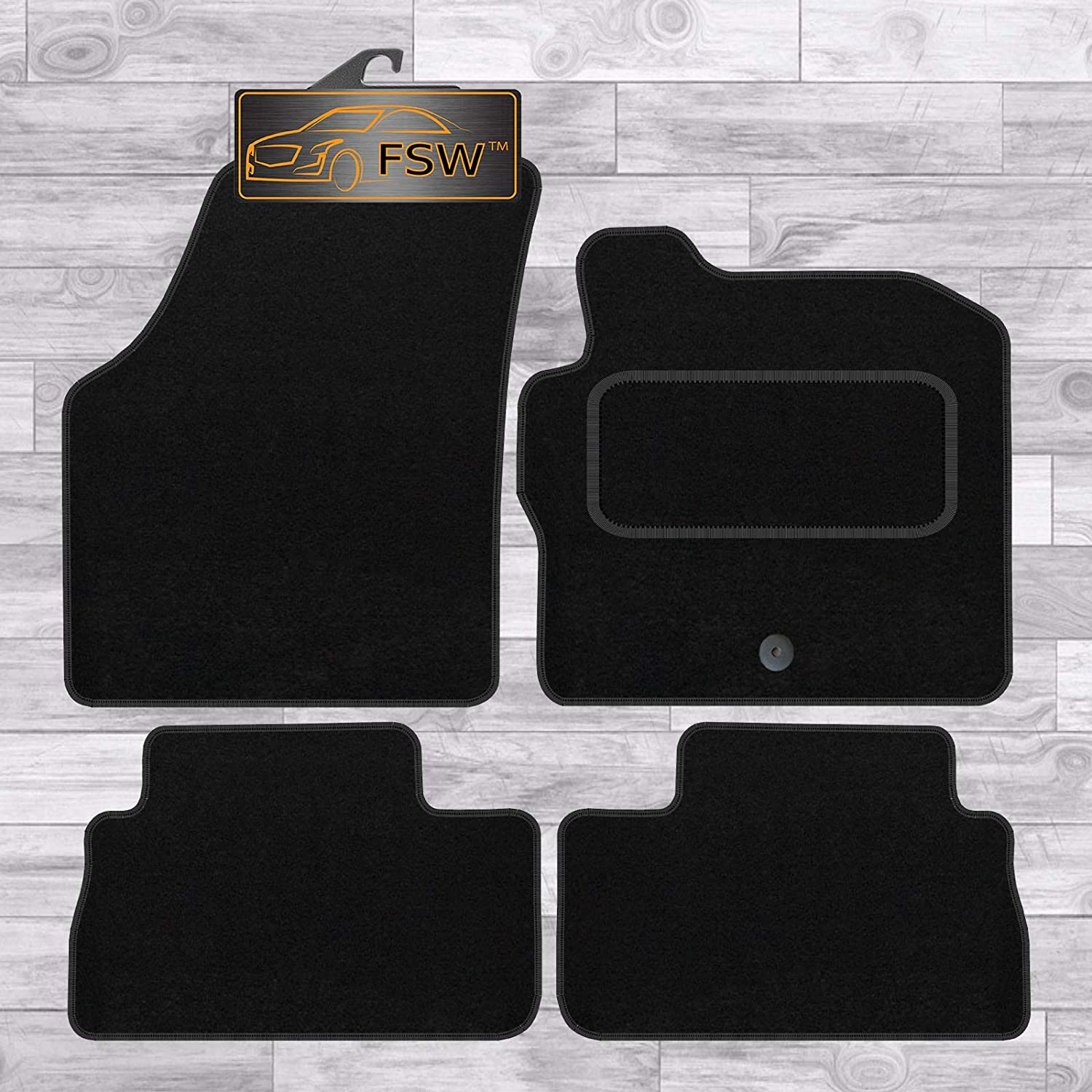 FSW Freelander 2006-2013 Mk 2 Fully Tailored Classic Carpet Car Floor Mats Black