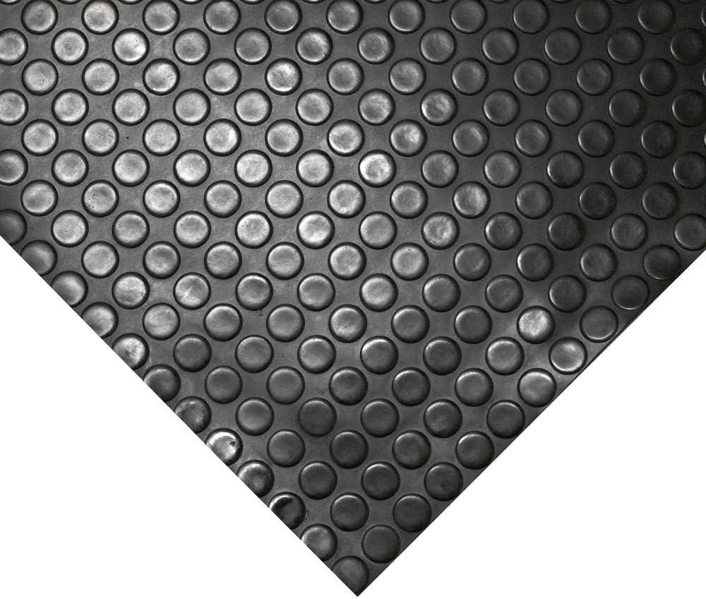 negro 2,5 mm de espesor Rollos de moqueta de PVC para pisos de garaje sin olor a alfombras de goma 1 m de ancho 1 m de largo