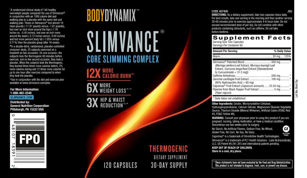 BodyDynamix Slimvance Thermogenic, 30 Day Supply by SLIMVANCE (Image #4)