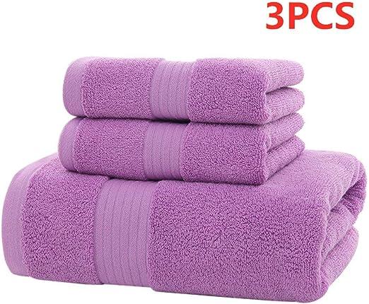 99LAmor - Juego de Toallas de algodón Egipcio (700 g/m2), diseño de Cara Towel de