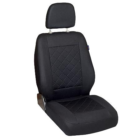 Intensiv Schwarze Sitzbezüge für NISSAN NV300 Autositzbezug SET 1+2
