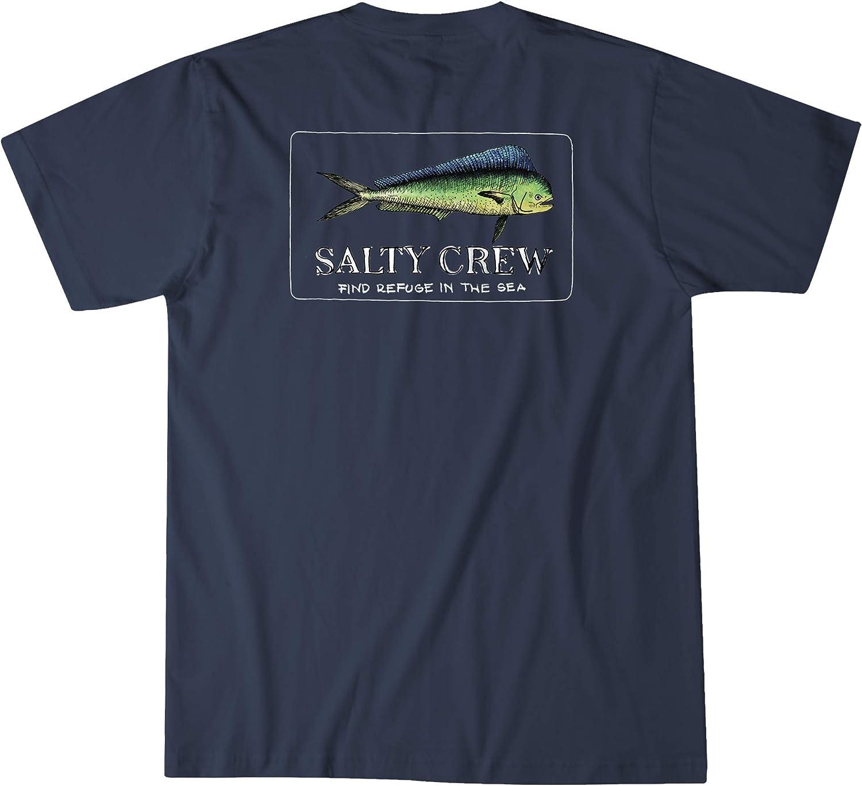Salty Crew El Dorado T-Shirt Navy New