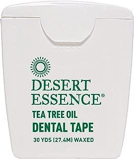 product image for Desert Essence, Dental Tape, Tea Tree Oil, Waxed, 30 Yds (27.4 m) - 2PC