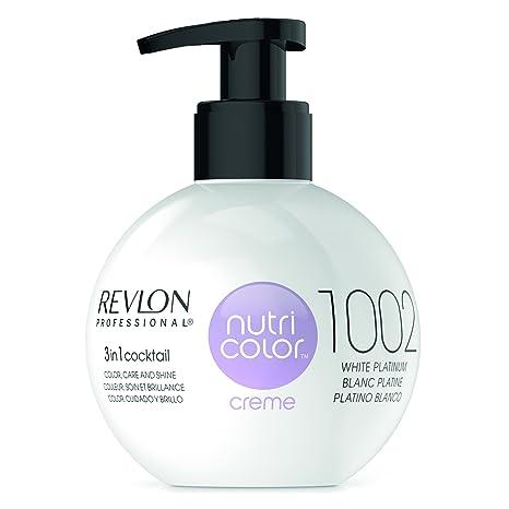 Revlon Nutri Color Creme Rubísimos, Tinte para el Cabello 1002 ...