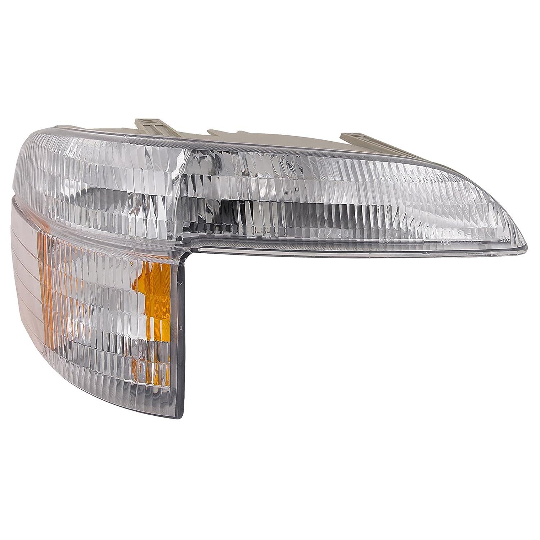 Headlights Depot Replacement for Ford Explorer Park Signal Side Marker Lamp Passenger Side New HeadlightsDepot FO2521130