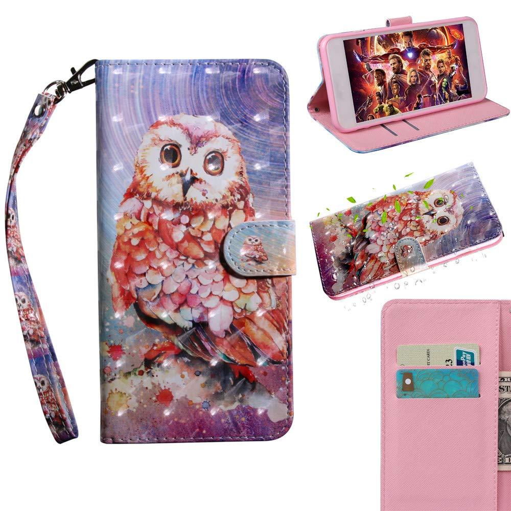 Panda 3D Pattern CardS /& Cash Slot Soft TPU Inner Bumper Flip Folio Cover per Sony Xperia XA1 Ultra BestCatgift PU Leather Xperia XA1 Ultra Wallet Custodia Magnetic Clasp