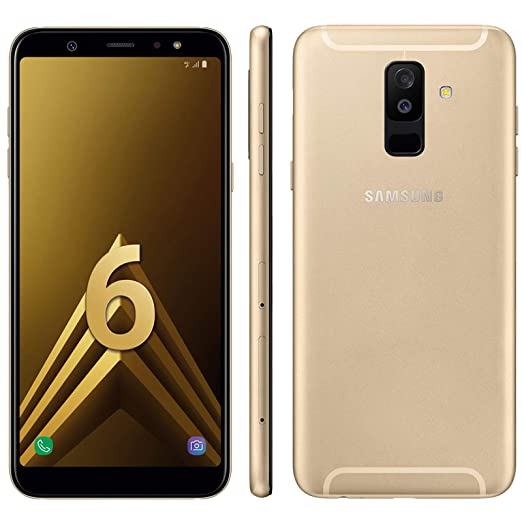 Samsung Galaxy A6 Plus 2018 Duos 32 Gb Gold Amazon De Elektronik