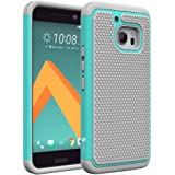 HTC 10Case, KUMIHO [Hybrid Dual Layer Armor] [Shock Proof] Defender Protective Case Cover for HTC 10 (Mint)