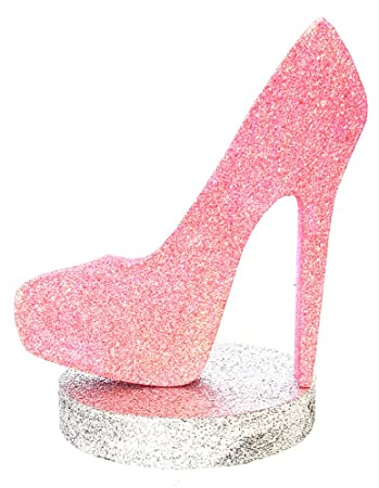 8bd69166c09 Image Unavailable. Image not available for. Color  High Heel Centerpiece  (Rain Pink Silver)