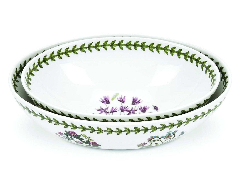 Portmeirion Botanic Garden Oval Nesting Bowls Set of 2 Portmeirion USA 605245