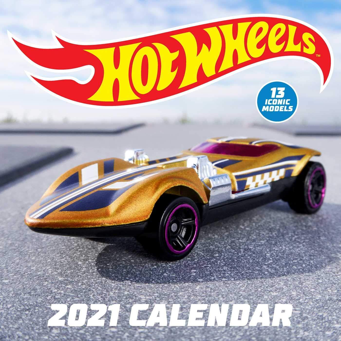 Hot Wheels 2021 Wall Calendar Mattel 9781419744723 Amazon Com Books