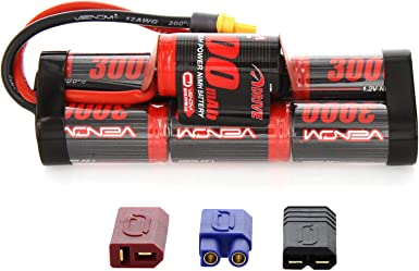 NEW Venom 9.6v 2400mAh 8 Cell NiMH Battery Hump w// Traxxas Connecter