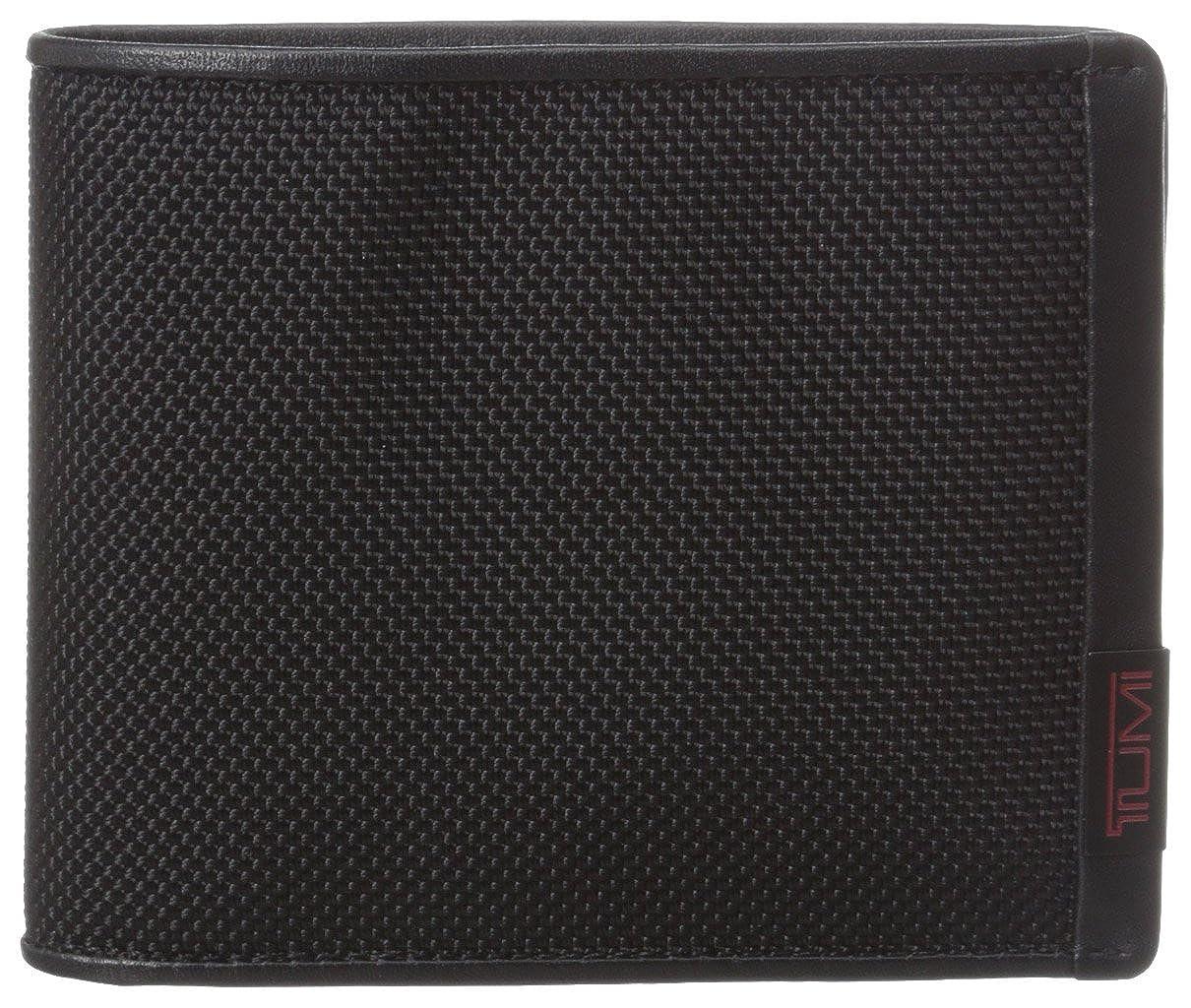 Tumi Men's Alpha Global Center RFID Blocking Flip ID Passcase Black One Size Tumi Men's Accessories 119232