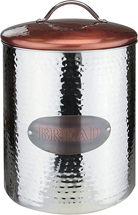 Apollo Canister Bread Stainless Steel Coppersilver 205x335x205
