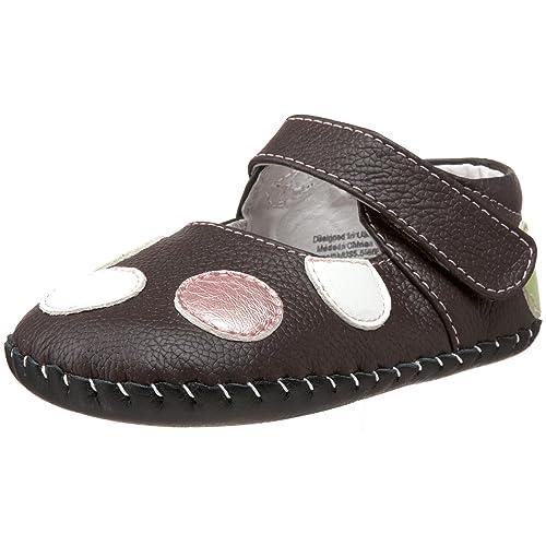 pedipedGiselle - Calzado de Primeros Pasos niña, Color marrón, Talla 0-6 Meses: Amazon.es: Zapatos y complementos