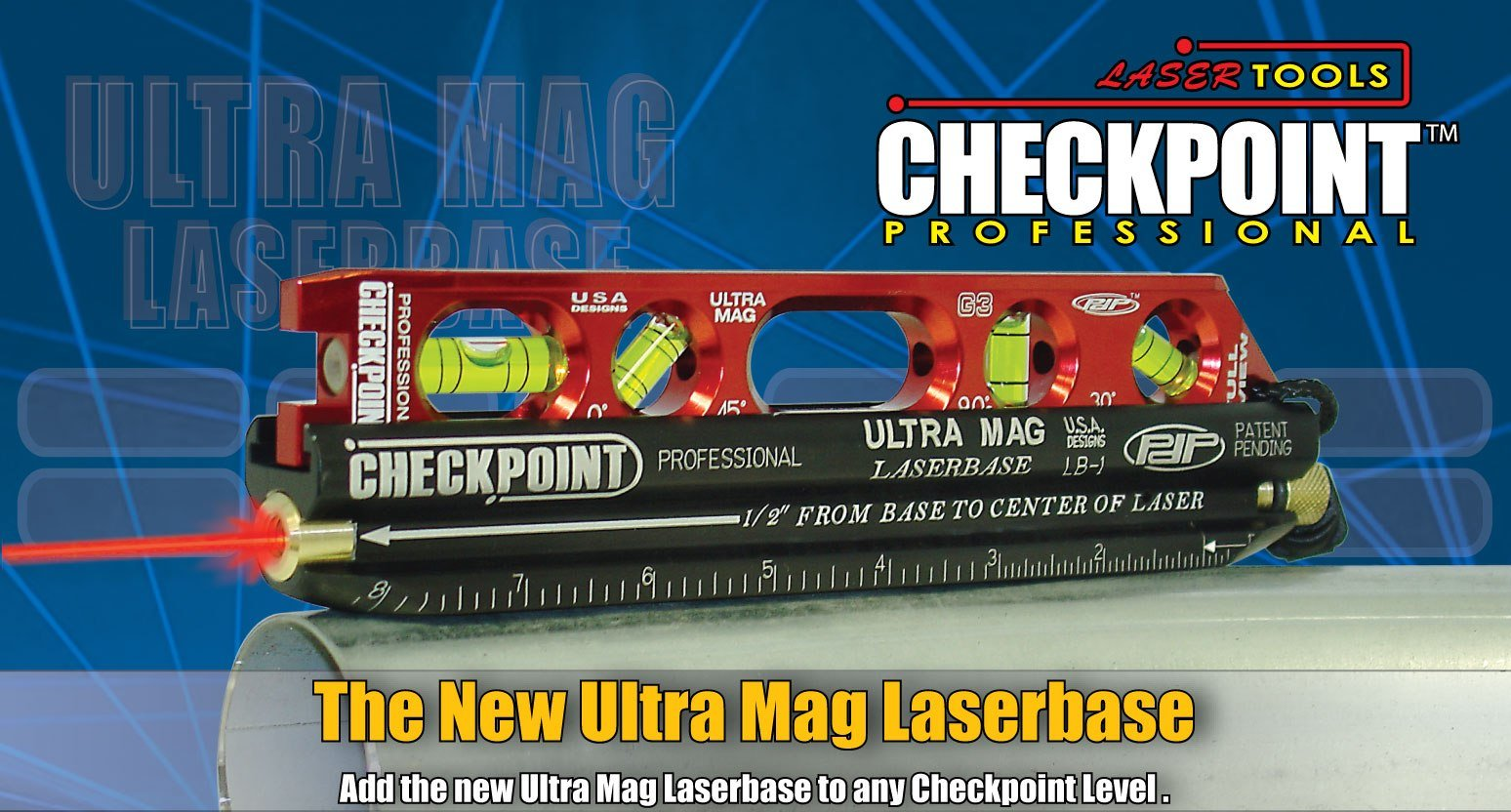 CHECKPOINT 400 Ultra Mag Laser Base by Checkpoint (Image #2)