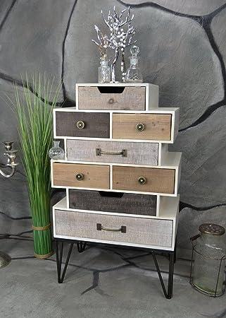 Livitat Sideboard Retro Schrank Vintage Kommode Industrie Loft