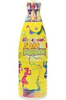 Botella de 1 litro, líquido de jabón para hacer pompas, Megaburbujas, GIGANTE BURBUJAS