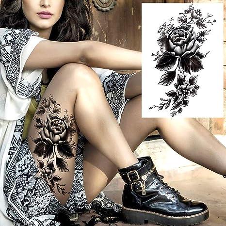 Tatuaje Temporal,Cuerpo De Transferencia Pegatinas 5 Hojas Oscuro ...