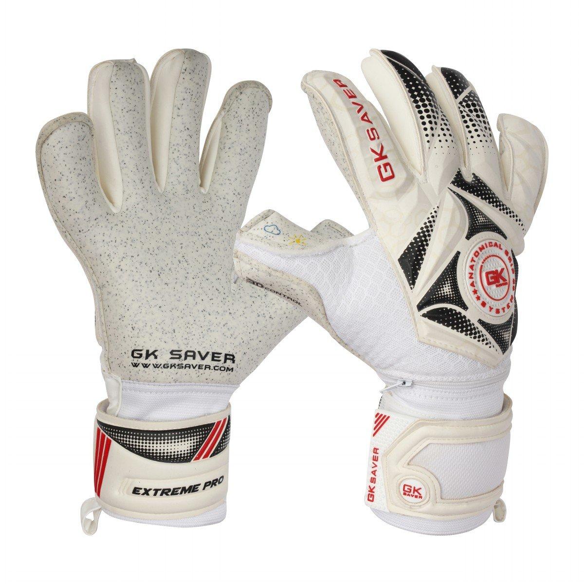 "GK Saver Fußballtorwart-Handschuhe ""3D Winner 04 Quarz Hybrid , professionelle hochwertige Handschuhe"